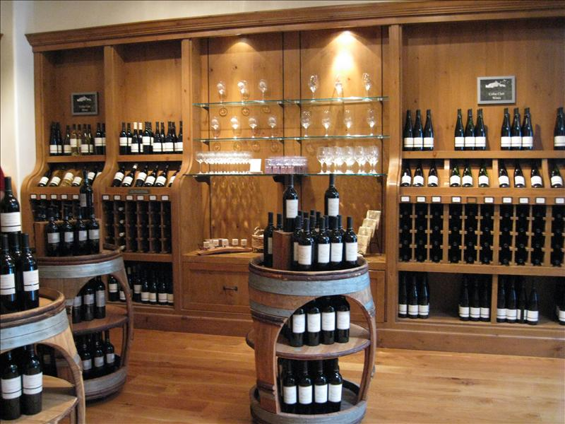The Sterling wine shop