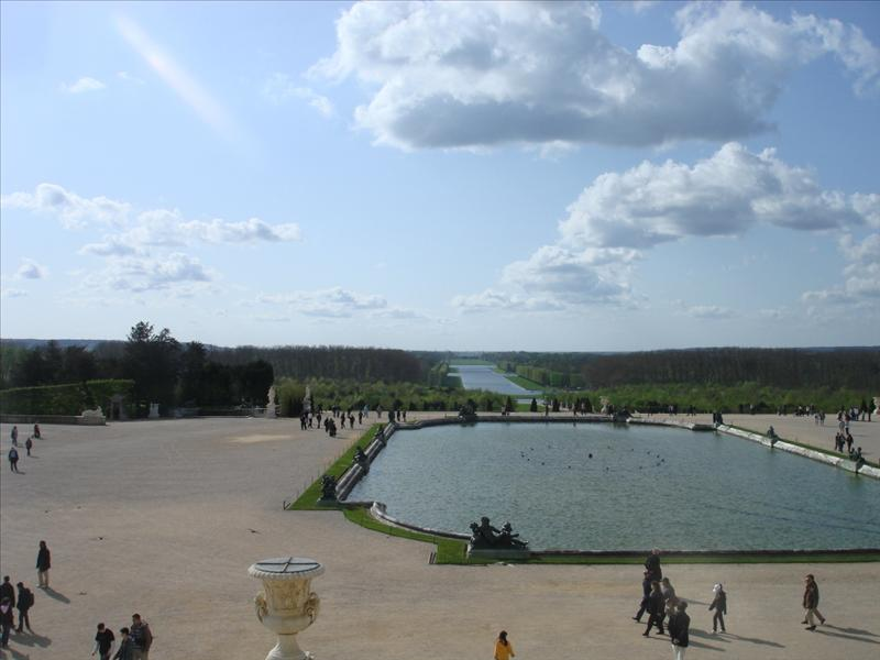 the Motel Pool (LOL) Garden at Versailles