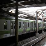 日暮里站Nippori內的山手線Yamanote Line