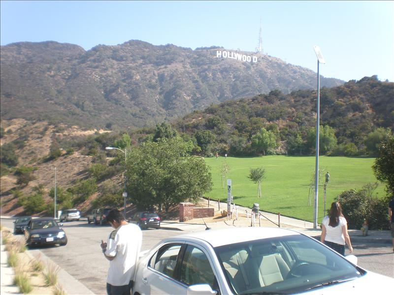 Park in the hills