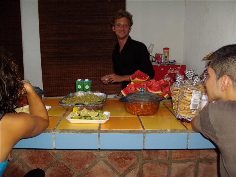 Geburtstagsfest an der Schule - hier mit Mario, meinem Klassenkameraden