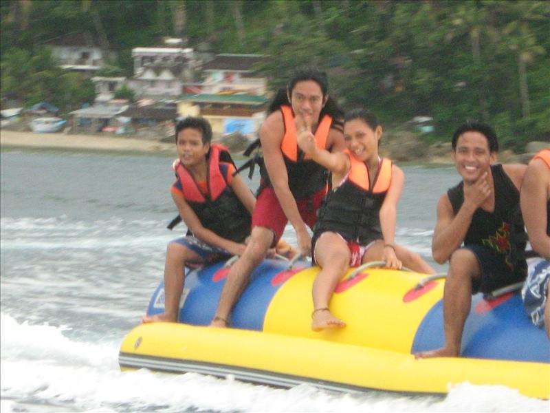 Banana boat, my favorite!