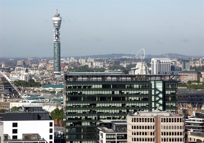 BT Tower and Wembley Stadium