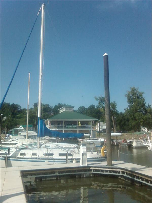 another view of Grafton's Landing marina