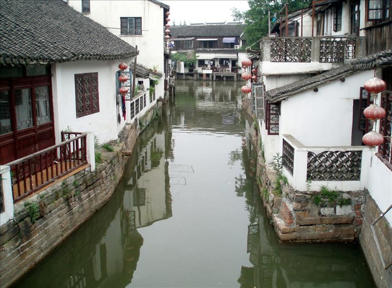 Zhujiajiao, a 1700 years old water village not far from Shanghai