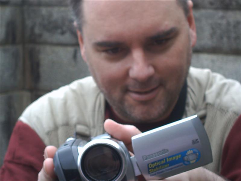 Me filming something.