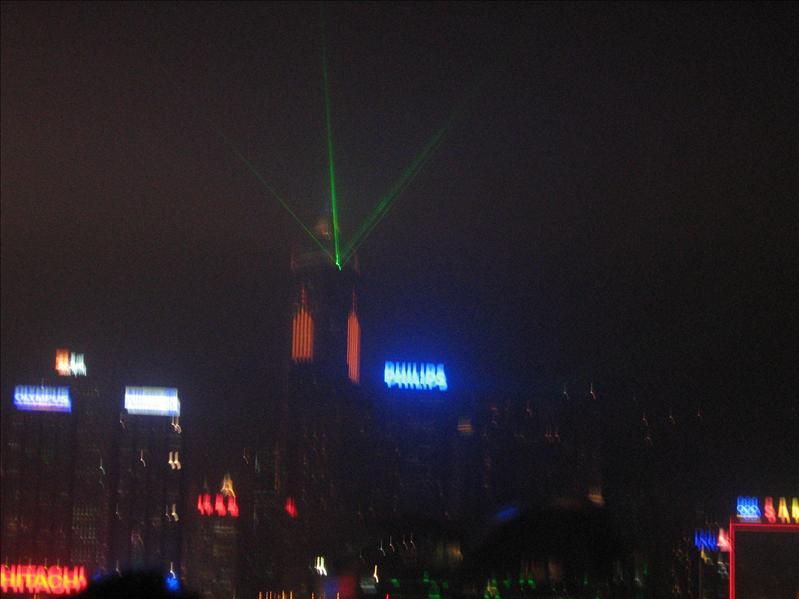 Night Show in Hong Kong