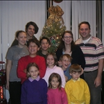 The whole family (Plus Ethan