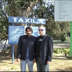Braden and ME at Taxila musem