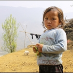 Kids in villages around Sapa