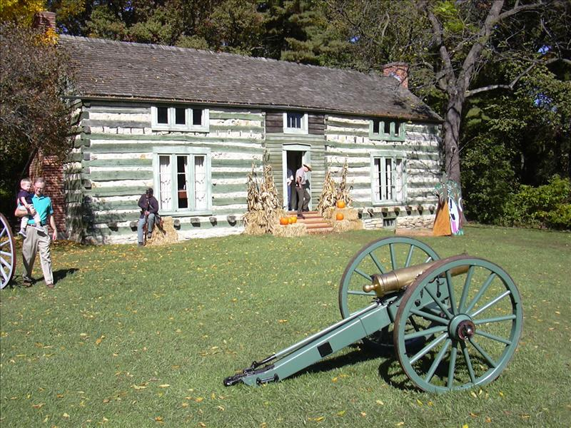Saint Louis's Grant's Cabin Civil War best bet (free admission)