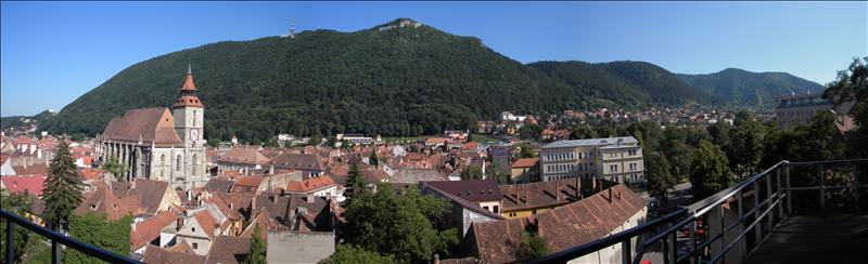 Brasov's view from Black Tower