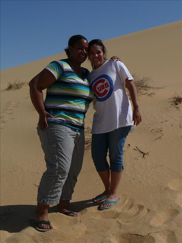 Siwa - Woestijn Jo-Ann en Meliza