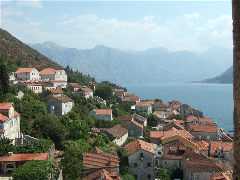 From the Tower of the Church of St Nikola, Perast