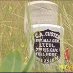 where custer died