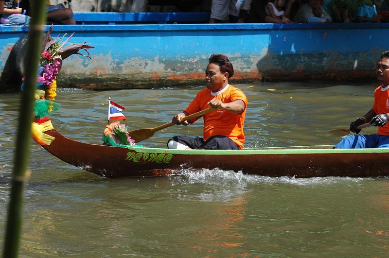 parade at Wat Bang Khun Tain (Krang)