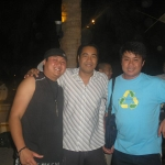 With Albert our friend Manager of Aria