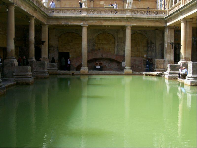 bath, roman bath