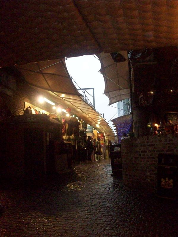 The stable stores in Camden Market