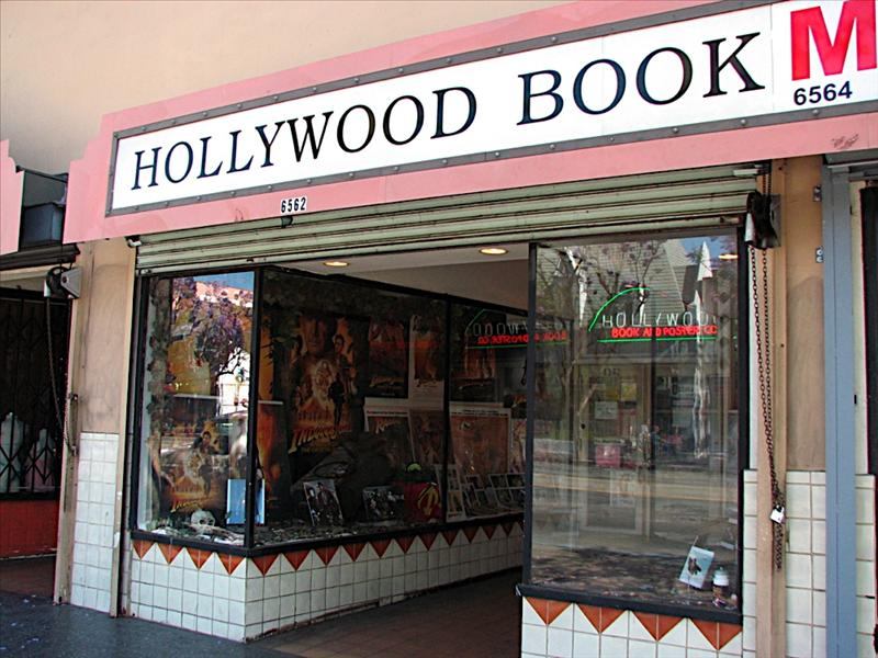 Movie book and poster shop in Hollywood