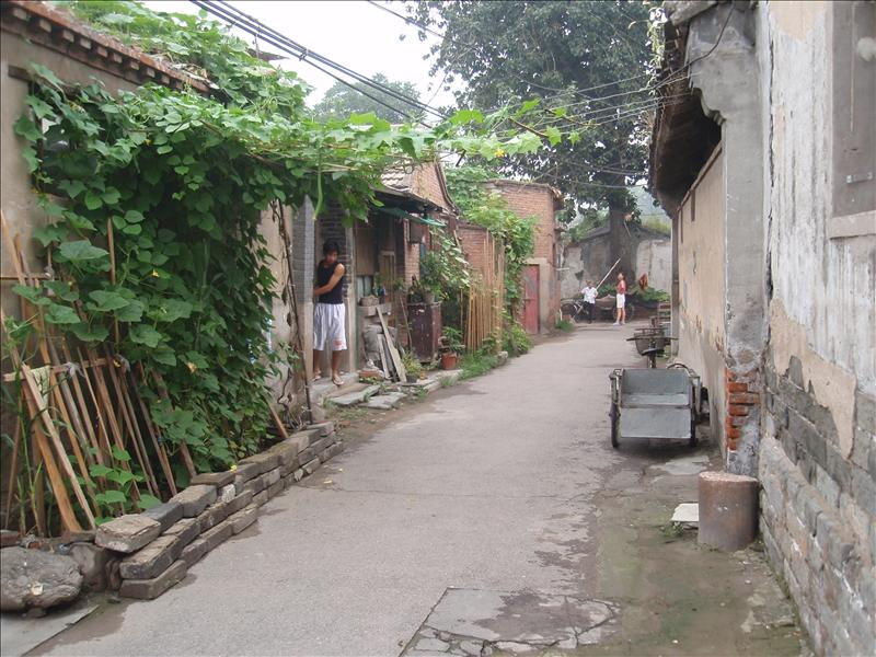 A hutong in south Beijing