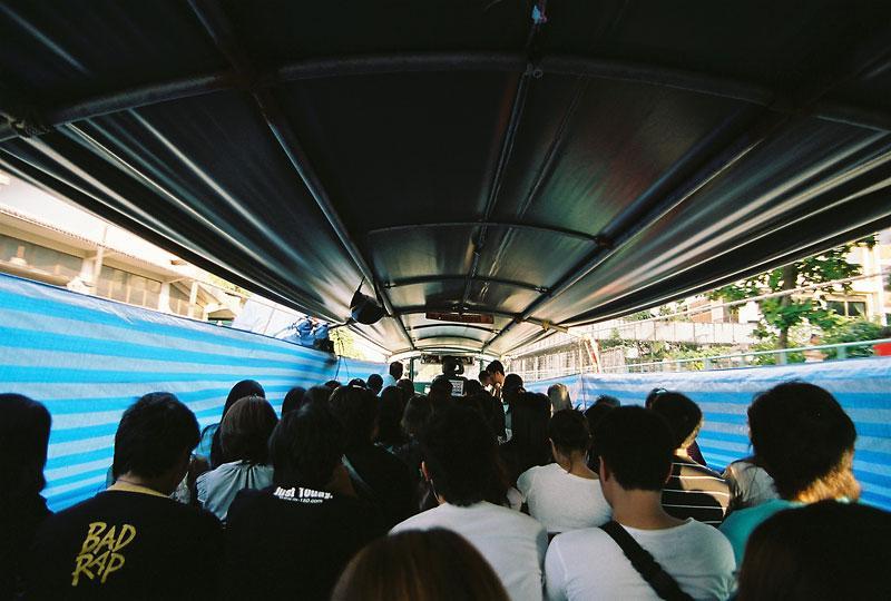 "Passenger liner In Bangkok 'Par Too Nam"""
