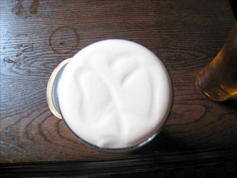 Four leaf clover guinness