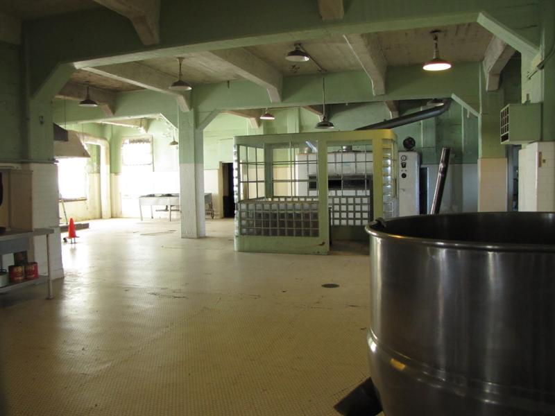 Alcatraz Federal Penitentiary - Kitchen