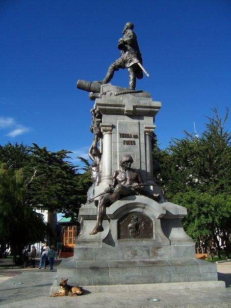 MAGELLAN MONUMENT, PUNTA ARENAS, CHILE