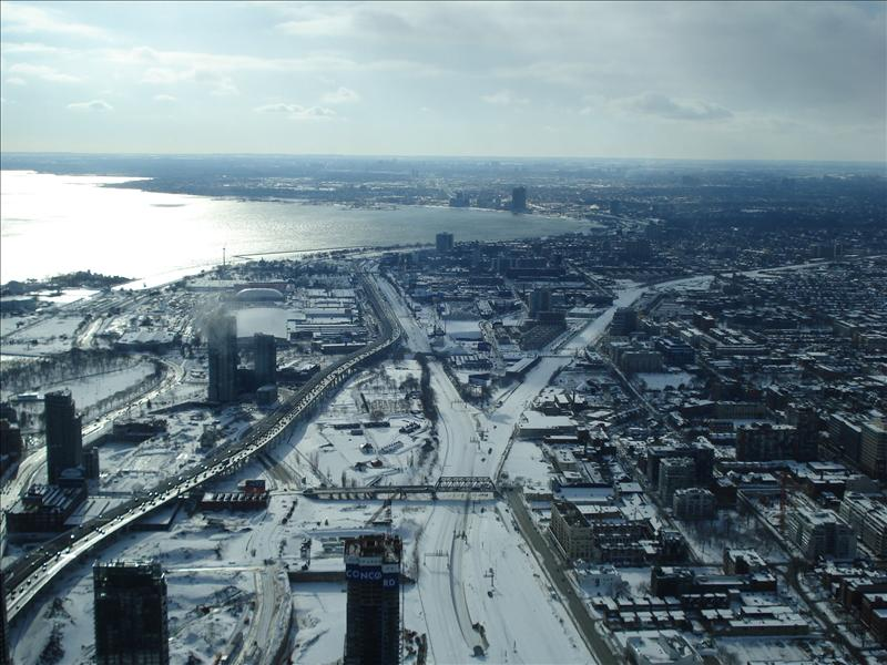 Toronto seen from CN Tower.4