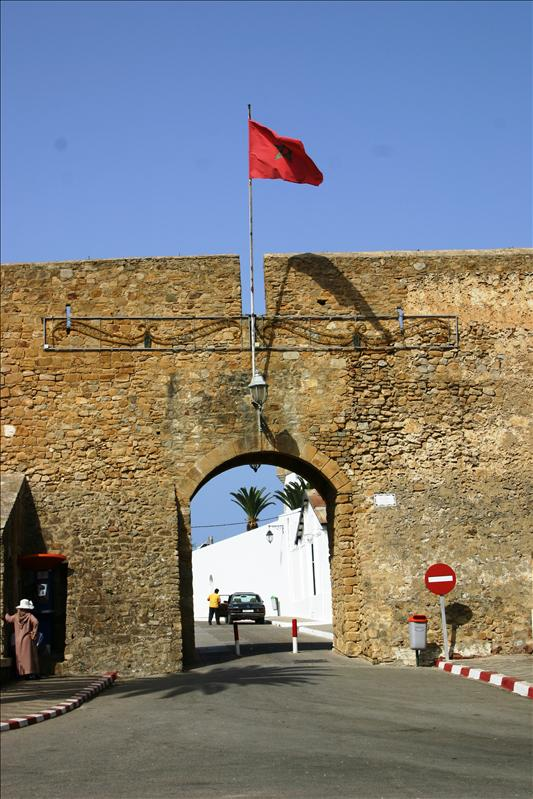entrance to Asilah Medina in the Fortress Wall.