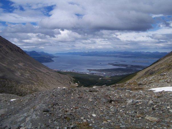 VIEW FROM CERRO MARTIAL, USHUAIA, ARGENTINA