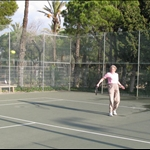 .. tennis on the site ....