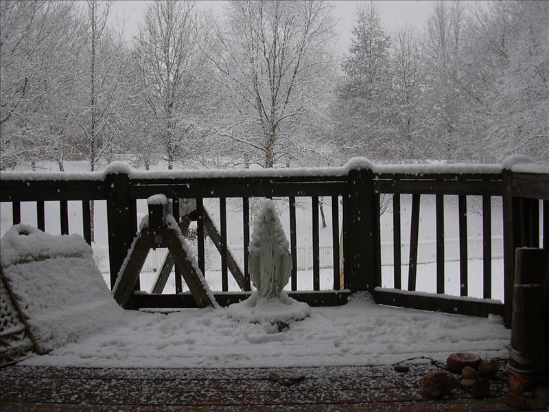 winter of 2005 in Missouri
