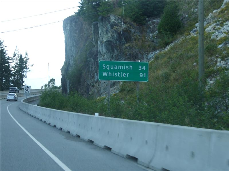 Road sign.