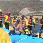 Our rafting group.  Tim and Anthony