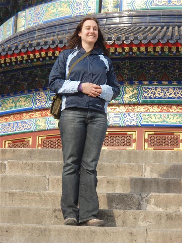 crappy picture of me taken by my Tunisian friend, Temple of Heaven