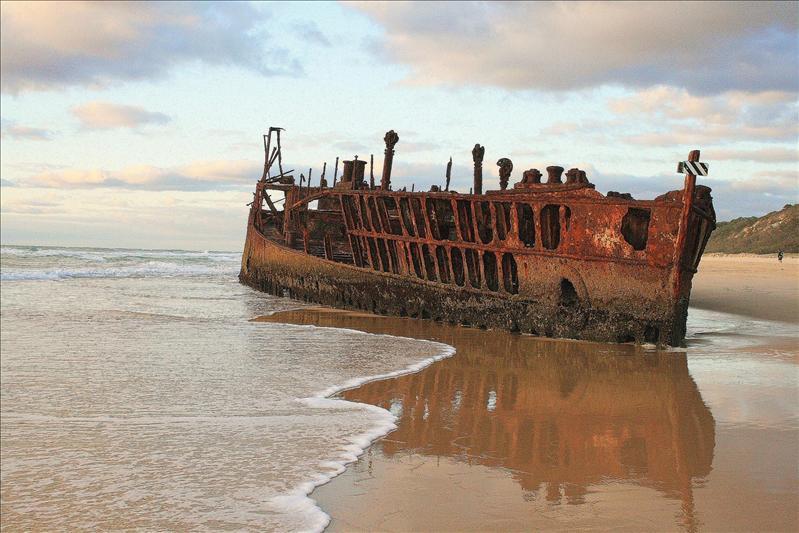 Maheno Wreck - Fraser Island