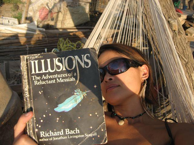 Reading in the desert of Las Margaritas..jpg