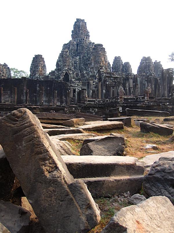 Bayon Temple, my favorite at Angkor