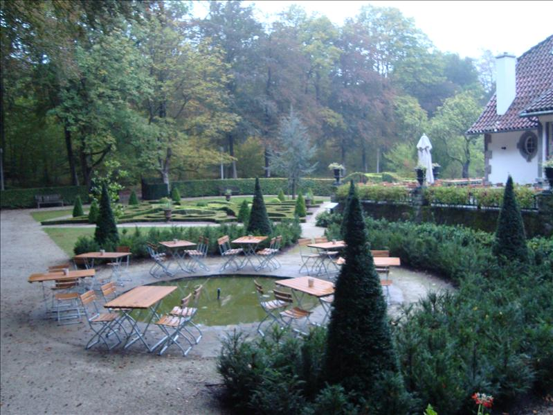Garden of the Restaurant
