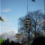 Winter Festival in Hyde Park, heavy on the German theme