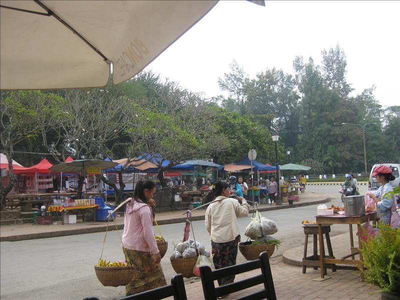 Street scene in Luang Prabang