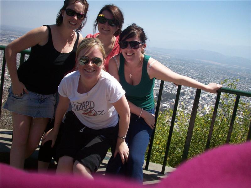 After 1070 step climb - Salta