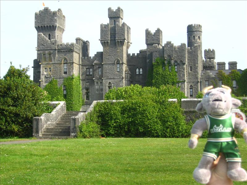 Ashford Castle... Pierce Brosnan was married here