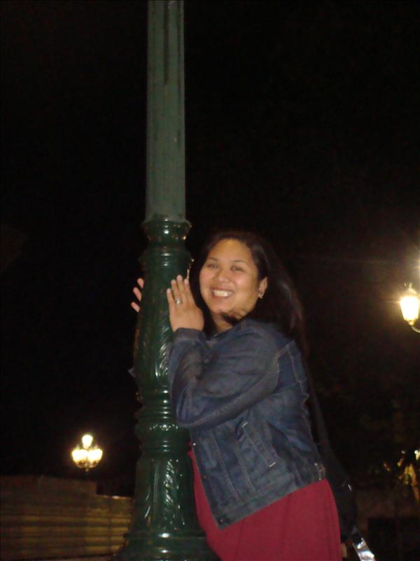 I really like this Greek lamp pole...