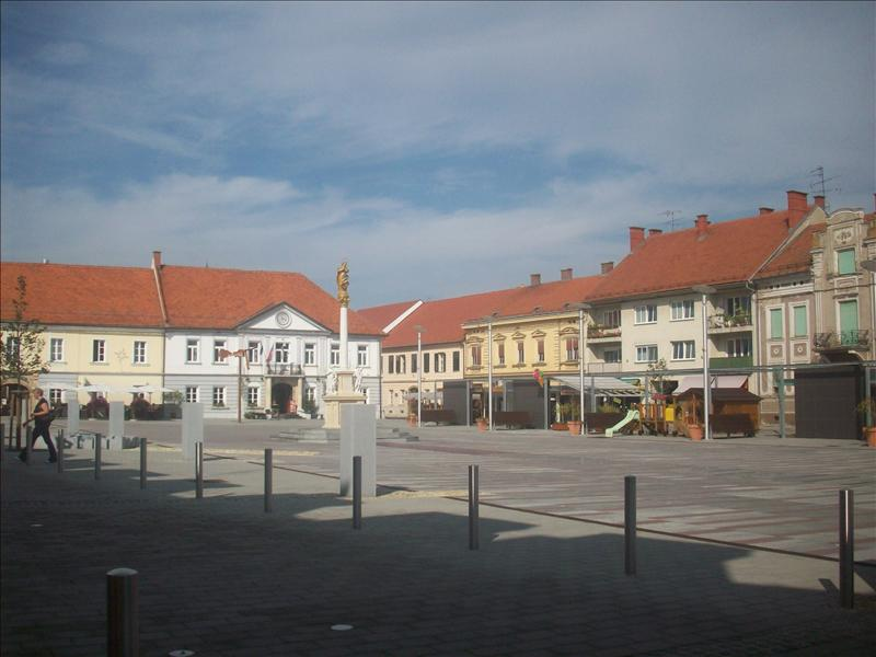 The square in Ljutomer