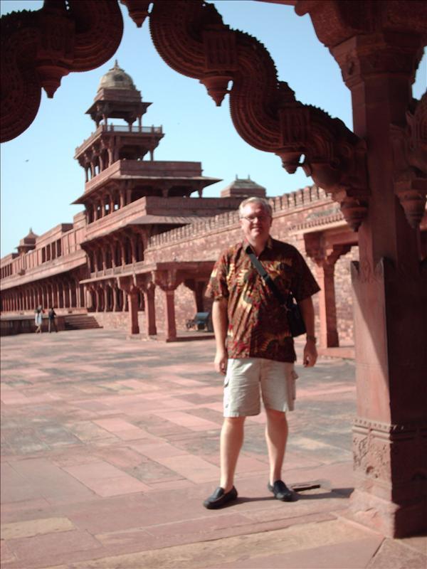 Inside Fatehpur Sikri