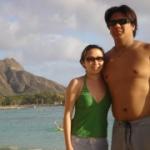 Jill and Erik - Waikiki beach