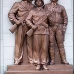 VICTORIOUS FATHERLAND WAR MUSEUM SCULPTURE PARK, PYONGYANG